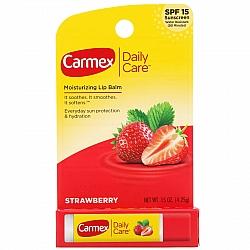 באלם SPF 15 לשפתיים טעם תות 4 גרם - מבית Carmex