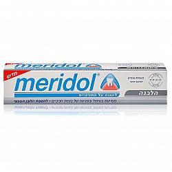 """הלבנה משחת שיניים להגנה על החניכיים 75 מ""""ל - מרידול"""