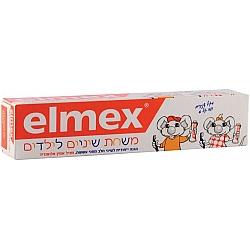 """משחת שיניים לילדים בגילאי 2-6 - 75 מ""""ל - אלמקס"""