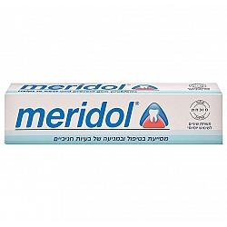 """משחת שיניים מסייעת לטיפול ומניעה של בעיות חניכיים 75 מ""""ל - מרידול"""