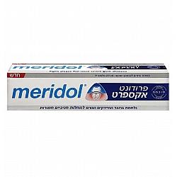 """פרודונט אקספרט משחת שיניים לחניכיים רגישות יעילות מוכחת קלינית 75 מ""""ל - מרידול"""