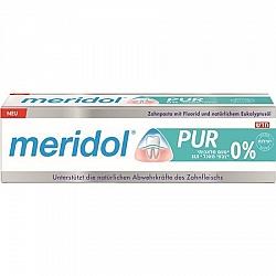 "PUR Meridol משחת שיניים 75 מ""ל - מרידול"