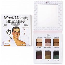 THE BALM פלטת צלליות Meet Matte(e) Shmaker