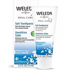 """וולדה משחת שיניים עם מלח 75 מ""""ל - Weleda"""