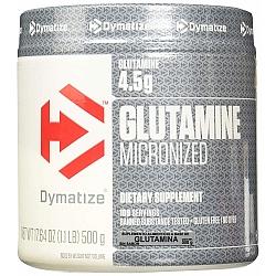 אבקת גלוטמין מיקרוני דיימטייז 500 גרם - מבית Dymatize Nutrition