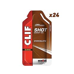 קליף בר ג'ל אנרגיה Shot ללא קפאין שוקולד 34 גרם - 24 יחידות - מבית CLIF Bar