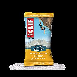 קליף בר חטיף אנרגיה אורגני - חמאת בוטנים ודבש עם מלח ים 68 גרם - 12 יחידות - מבית CLIF Bar