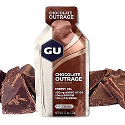 GU גו ג'ל אנרגיה בטעם שוקולד 32 גרם - 24 יחידות