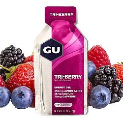 GU גו ג'ל אנרגיה תותי יער 32 גרם - 24 יחידות