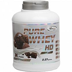 """אבקה חלבון מי גבינה פיור ווי HD בטעם קוקוס שוקולד בד""""ץ משקל 2.3 ק""""ג - מבית PowerTech Nutrition"""