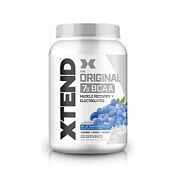 חומצות אמינו BCAA אקסטנד XTEND משקל 1260 גרם טעם פטל כחול - 90 מנות הגשה - מבית SCIVATION