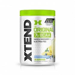 חומצות אמינו BCAA אקסטנד XTEND Natural Zero משקל 367 גרם בטעם לימונדת אוכמניות - 25 מנות - מבית SCIVATION