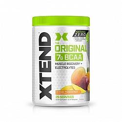 חומצות אמינו BCAA אקסטנד XTEND Natural Zero משקל 367 גרם בטעם פירות יער תפוז - 25 מנות - מבית SCIVATION