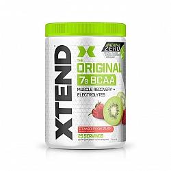 חומצות אמינו BCAA אקסטנד XTEND Natural Zero משקל 367 גרם בטעם תות קיווי - 25 מנות - מבית SCIVATION