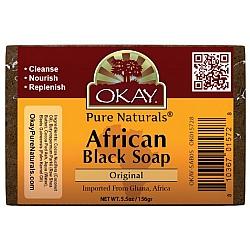 סבון אפריקני שחור מקורי 156 גרם - מבית OKAY