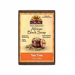 סבון אפריקני שחור עץ התה 156 גרם - מבית OKAY