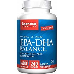 ג'ארו אומגה 3 איזון EPA-DHA יחס 2:1 - 240 כמוסות רכות - מבית Jarrow Formulas