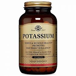 סולגאר Potassium אשלגן 250 טבליות - מבית SOLGAR