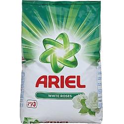 """אריאל אבקת כביסה בניחוח שושן צחור 3 ק""""ג - מבית ARIEL"""