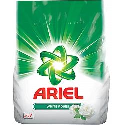 """אריאל אבקת כביסה בניחוח שושן צחור 7 ק""""ג - מבית ARIEL"""