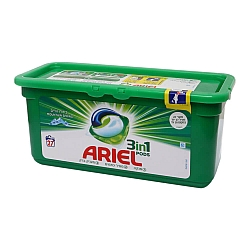 אריאל קפסולות ג'ל לכביסה 27 יחידות - מבית ARIEL