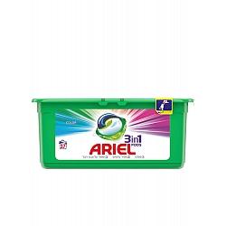 אריאל קפסולות ג'ל לכביסה 3 פעולות ב-1 - 27 יחידות - מבית ARIEL