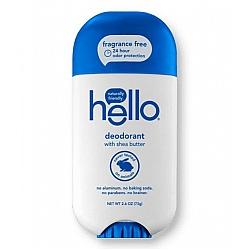 דאודורנט עם חמאת שיאה ללא ריח 73 גרם - מבית Hello