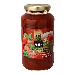 רוטב עגבניות ובזיליקום לפסטה אהרוני 680 גרם