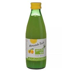 """מיץ לימון טבעי מפוסטר מרקדו טייסט 250 מ""""ל - מבית Mercado Taste"""