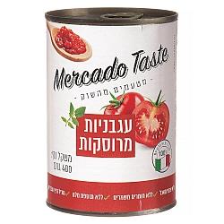 עגבניות מרוסקות מרקדו טייסט 400 גרם - מבית Mercado Taste