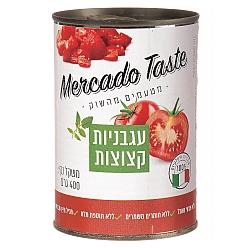 עגבניות מרוסקות מרקדו מרקדו טייסט 400 גרם - מבית Mercado Taste