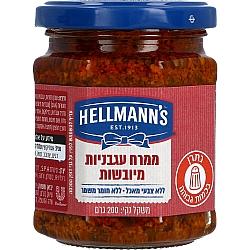 ממרח עגבניות מיובשות הלמנ'ס 200 גרם - מבית HELLMANN'S