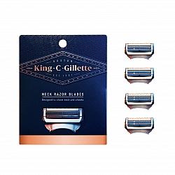 קינג קמפ ג'ילט סכיני גילוח שלישייה במארז - מבית King C Gillette