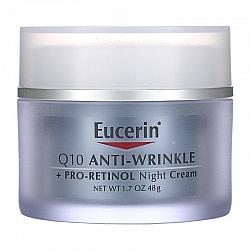 Q10 קרם פנים לילה נגד קמטים פרו-רטינול 48 גרם - מבית Eucerin