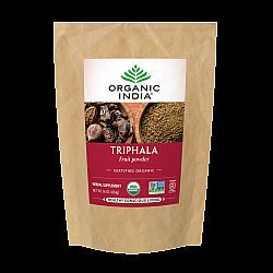 אורגניק אינדיה אבקת פירות טריפלה 454 גרם - מבית Organic India