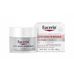 Q10 קרם פנים נגד קמטים 48 גרם - מבית Eucerin