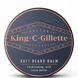 קינג קמפ ג'ילט באלם לזקן 100 גרם - מבית King C Gillette