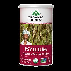 אורגניק אינדיה קליפות פסיליום שלמות 340 גרם - מבית Organic India