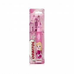 אורביטול מברשת שיניים חשמלית לילדים מגיל 3 עם סוללות פיות