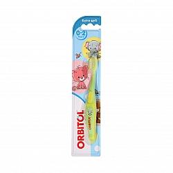 אורביטול מברשת שיניים תינוקות 0-2 - 1 יחידה