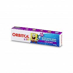 אורביטול משחת שיניים בוב ספוג בטעם מיץ ענבים - 70 גרם