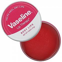 וזלין טיפוח לשפתיים רכות וחלקות ורוד 17 גרם - מבית VASELINE