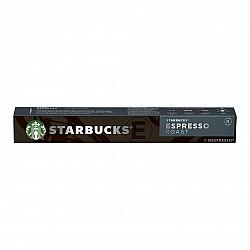 סטארבקס קפסולות קפה אספרסו חוזק 11 תואמות נספרסו אספרסו - 10 קפסולות - מבית Starbucks