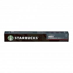 סטארבקס קפסולות קפה אספרסו נטול קפאין חוזק 11 תואמות נספרסו אספרסו - 10 קפסולות - מבית Starbucks