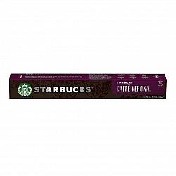 סטארבקס קפסולות קפה ורונה חוזק 10 תואמות נספרסו אספרסו - 10 קפסולות - מבית Starbucks