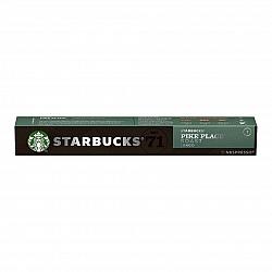 סטארבקס קפסולות קפה פייק פלייס חוזק 7 תואמות נספרסו אספרסו - 10 קפסולות - מבית Starbucks