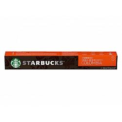 סטארבקס קפסולות קפה קולומביה חוזק 7 תואמות נספרסו אספרסו - 10 קפסולות - מבית Starbucks