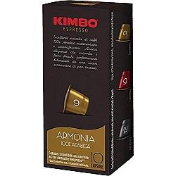 קימבו קפסולות קפה Armonia ארמוניה תואמות נספרסו - 10 קפסולות - מבית KIMBO