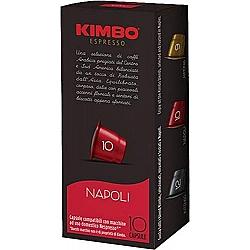 קימבו קפסולות קפה Napoli נאפולי תואמות נספרסו - 10 קפסולות - מבית KIMBO